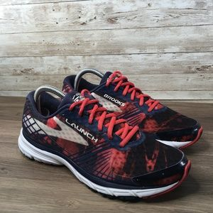 Brooks Launch 3 Women's Running Shoe Black Red
